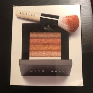 Bobbi Brown Bronze Shimmer Brick with Brush
